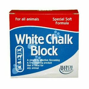 Hatchwells White Chalk Block for Horses, Dogs, Pets