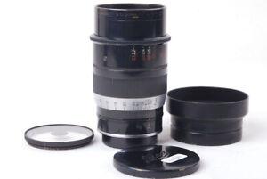Ex Leica LEITZ Thambar 90mm F/2.2 L39 W/ Soft-Focus Filter + Caps