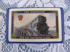 Vintage 1928 Pennsylvania Railroad THE AMERICAN Playing Cards FULL DECK Plus