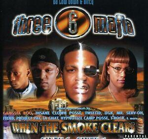 Three 6 Mafia - When the Smoke Clears [New CD] Explicit