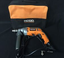 RIDGID 8-Amp 1/2 in. Heavy-Duty Variable Speed Reversible Drill R7111 [A]