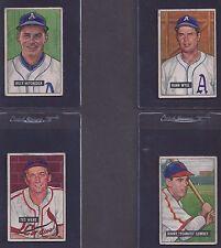 1951 Bowman #193 Ted Wilks St. Louis Cardinals VG (MK)