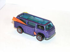 1969 Hot Wheels Redline Volkswagen Beach Bomb SCARCE NICE PURPLE VW BUS KEEPER!