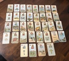 ANTIQUE / VINTAGE CARRERAS FORTUNE TELLING CARDS!                       (OUIJA)