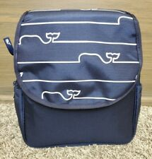 Vineyard Vines Target Whale Line Diaper Bag Backpack Navy w Changing Pad Nwt