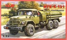ZIL ATZ-4-131 tanque de combustible (Soviética, Alemania Oriental, polaco, ucraniano MKGS) 1/72 ICM