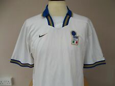 RARE NIKE ITALY AWAY FOOTBALL SHIRT MAGLIA 1996 LARGE  MENS