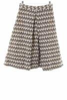 MARC JACOBS Jupe en laine motif en zigzag style classique Dames T 36 crème