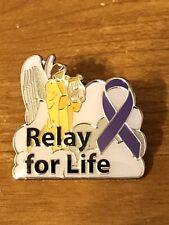 Rare Walmart Lapel Pin Relay For Life Cancer Awareness Wal-mart Pinback