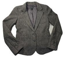 Club Monaco Blazer Size 4 Gray Wool Herringbone