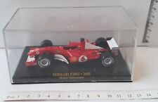 FERRARI F2002 2002 MICHAEL SCHUMACHER SCALE 1:43 1/43 CAR AUTO F1 DIE CAST MODEL