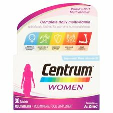 CENTRUM WOMEN A TO ZINC MULTIVITAMIN 30 TABLETS
