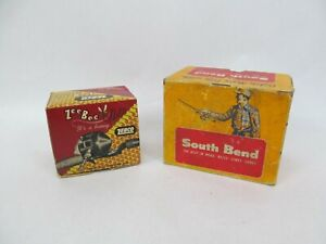 Vintage Fishing Reel Boxes Only – Zebco + South Bend