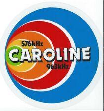 Caroline 576/963 kHz colour circular self-adhesive stickers - 3 for £1.50!!!