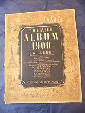 Partition Premier Album 1900 Salabert 1940 Music Sheet Grand Format