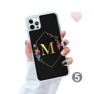 Personalised Marble Gel Phone Case Cover For iPhone Samsung Huawei Google -123-5