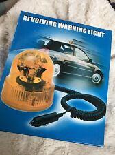 Amber Beacon Revolving Warning Light Flashing Emergency 12V Car/Caravan/Truck