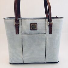 Dooney & Bourke Lizard Embossed Lexington Tote Purse Shoulder Bag Summer NEW