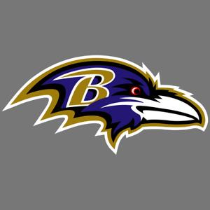Baltimore Ravens NFL Car Truck Window Decal Sticker Football Laptop Bumper
