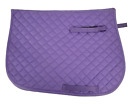D.A. Brand Purple Heavy Quilted Cotton All Purpose English Saddle Pad Horse Tack