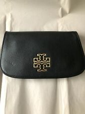 TORY BURCH BLACK CROSSOVER/CLUTCH AUTHENTIC PURSE