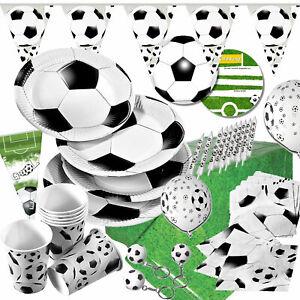 FUSSBALL EM 2021 - Geschirr Deko Mottoparty Kindergeburtstag Party Fussballparty