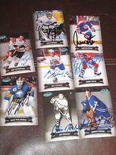 LOT OF 53 AUTOGRAPHED 2006-2007 PARKHURST CARDS-HOF-STARS-DECEASED-NO DUPLICATES