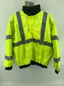 Occunomix Occulux 4 in 1 Bomber Jacket 2x Yellow   LUX-TJBJ-Y2X