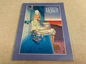 """""""The Art of Moebius"""" Intro by George Lucas Epic Comics 1989 Byron Preiss, Editor"""