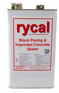 RYCAL 5 Litre Matt wet look concrete sealer
