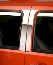 Chrome Decorative Pillar Post Trim Fits 2007-2013 Chevy Silverado Ext. Cab 4 PCE