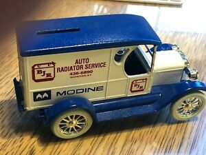 "Ertl  1:25 ""BJR Radiator Service  Rochester, NYdd 1923 Ford Model T Bank! unused"