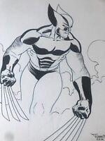 Wolverine-Original Art Sketch Commission - Francis Portela