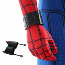 NEWLY Black PU Spider-Man Homecoming Spiderman Peter Parker Web Shooter Cosplay