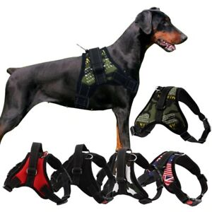 Dog Harness Adjustable Pet Dog Collar For Big Dog Walking Training Belt