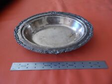 VINTAGE E.P.C.1201 SILVERPLATE SERVING BOWL DISH PLATTER SILVER PLATE