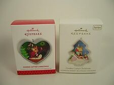 Hallmark Cookie Cutter Series Ornament 2012 1st and 2nd 2013