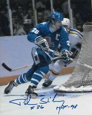 Peter Stastny signed 8x10 *NORDIQUES*