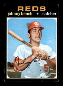 1971 Topps #250 Johnny Bench   EX+ X2272437
