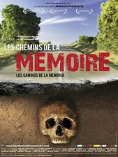 Affiche 40x60cm LES CHEMINS DE LA MÉMOIRE /LOS CAMINOS DE LA MEMORIA Peñafuerte