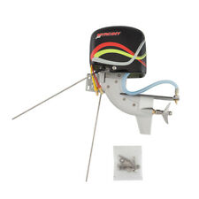 Rc Boat Tail Power Head Outboard Brushless Motor Propeller Steering Function New