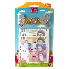 Pretend Play Money Coins Notes Dress Up Accessories Shop