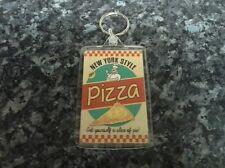 New York Style Pizza Jumbo Keyring NEW. Retro Americana, Fast Food