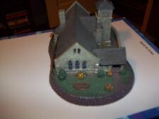 """NORMAN ROCKWELL`S HOME TOWN COLLECTION """"THE GREY STONE CHURCH"""" FIGURINE COLLECTI"""