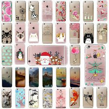 Slim Custodie Pattern Soft TPU Silicone Case Cover For iPhone SE 5 6 6s 7 PLUS