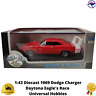 Diecast Model Car 1:43 1969 Dodge Charger Daytona Eagle's Race Universal Hobbies