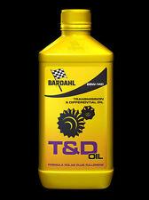 3 LITRI OLIO TRASMISSIONE CAMBIO DIFFERENZIALE BARDAHL T&D GEAR OIL 85W140