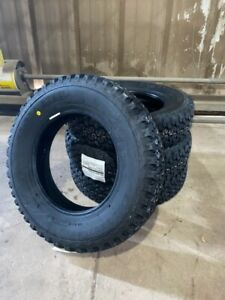 New Set of 4 Mini Truck Tires Bridgestone RD-604 Steel 145 R12 LT Suzuki Carry