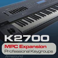 KURZWEIL K2500 MPC EXPANSION PROGRAMS & KEYGROUPS READY AKAI MPC FORMAT DOWNLOAD