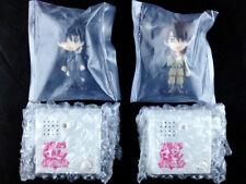 Kyo Kara Maoh! Yuri & Conrad Chibi Voice Mini Figure set BANDAI Yaoi BL New